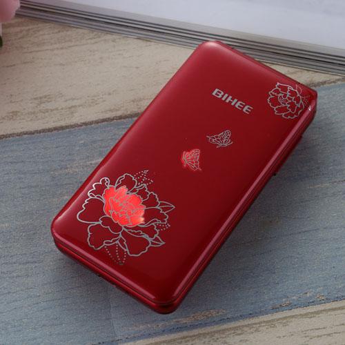 百合BIHEE C30电信版翻盖老年手机大字大声天翼4G按键老人机男女