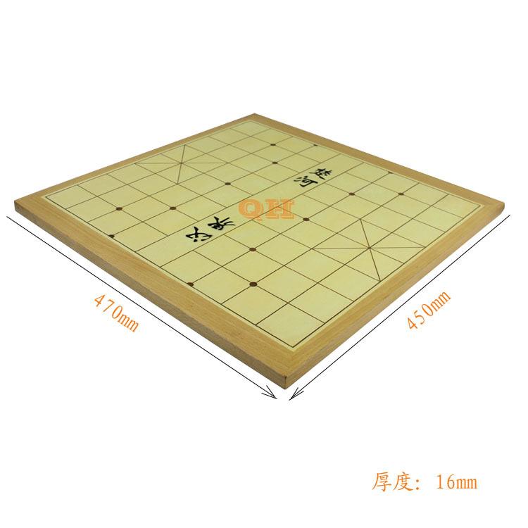 拼格棋盘 象棋 原木 超耐磨 手感好 不印刷