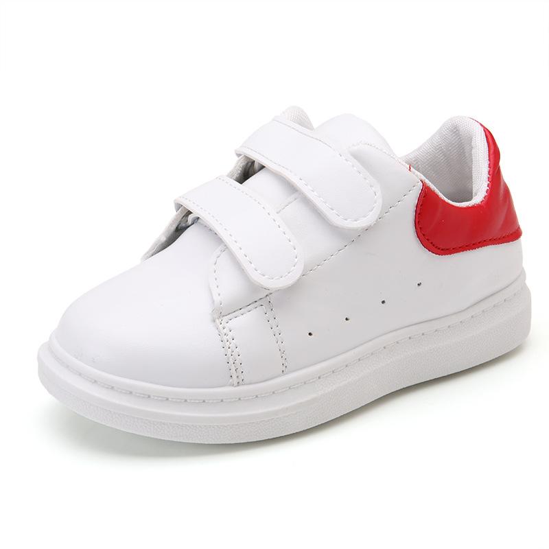 春秋季新款休闲儿童运动鞋男女童鞋透气中大童小白鞋板鞋