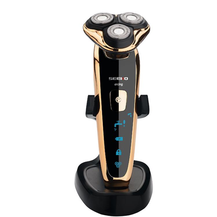 批发OE微商4D电动剃须刀RQ1250带座充智能全身水洗刮胡刀