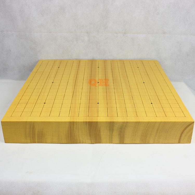 6cm新榧木实木围棋盘 激光刻线围棋盘 独木棋盘 高档棋盘