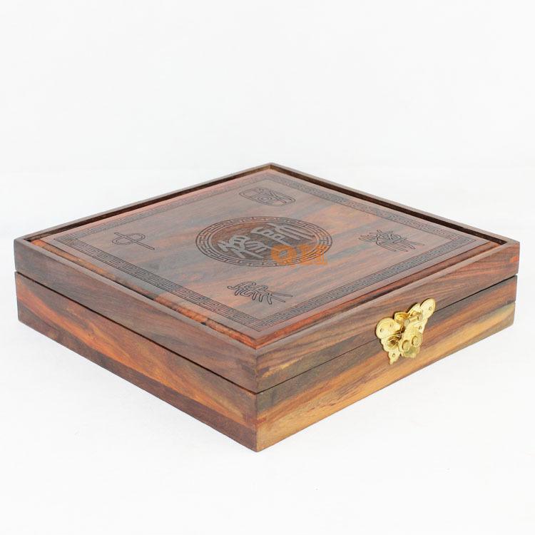 红木象棋盒 酸枝木象棋盒 6CM棋盒 中国象棋盒 酸枝象棋盒 不带棋