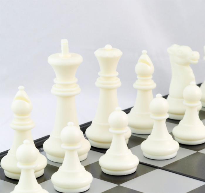 磁性国际象棋 国际跳棋 双陆棋 王高8CM 特大号国际象棋