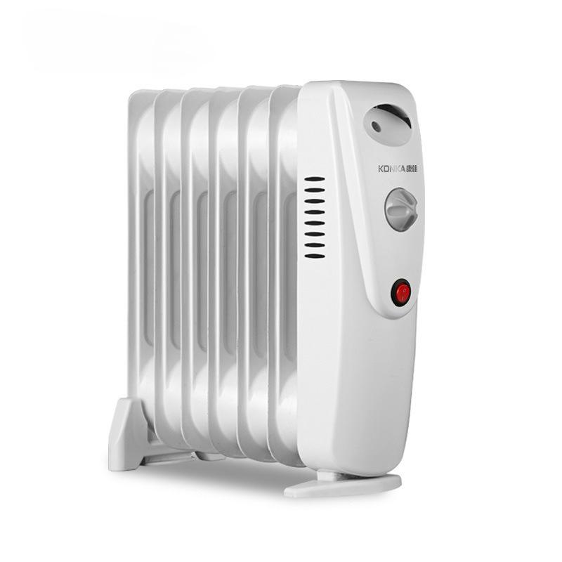 康佳电热油汀小型迷你电暖器家用省电取暖器学生办公室静音暖油丁