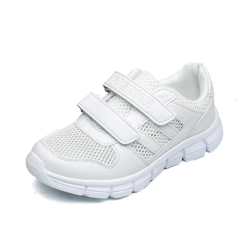 新款春夏童鞋男女童网鞋镂空白色单网眼单鞋学生小白鞋儿童运动鞋