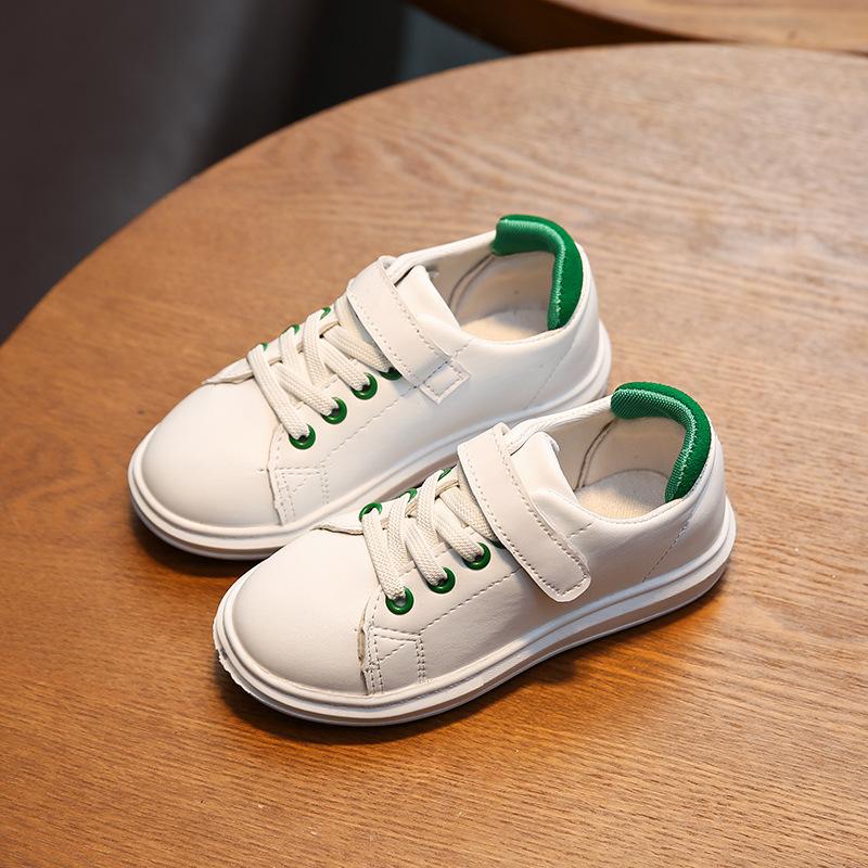 春秋儿童单鞋运动鞋韩版男童女童小白鞋新款童鞋百搭休闲鞋