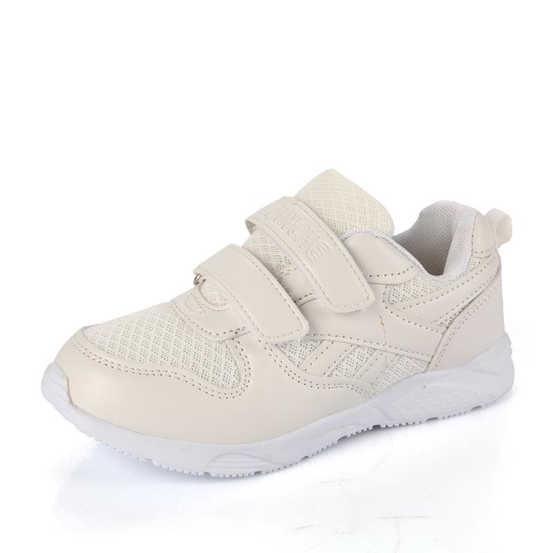 新款春秋儿童网鞋小白鞋透气网鞋白色休闲运动鞋男童女童鞋潮