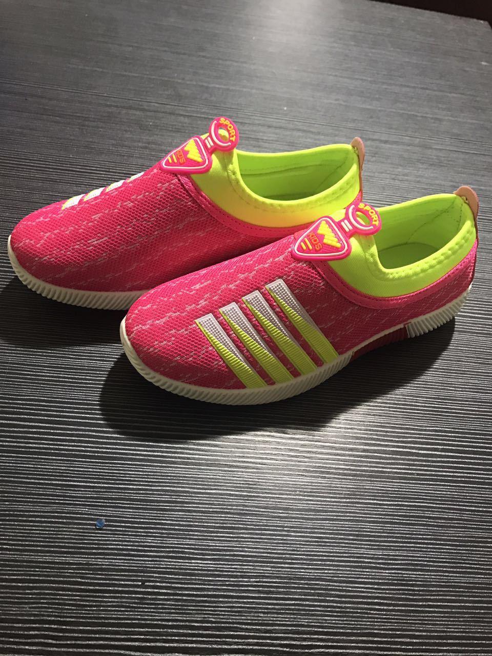 夏季男童鞋儿童运动鞋时尚小孩男孩中大童女童休闲鞋透气网鞋