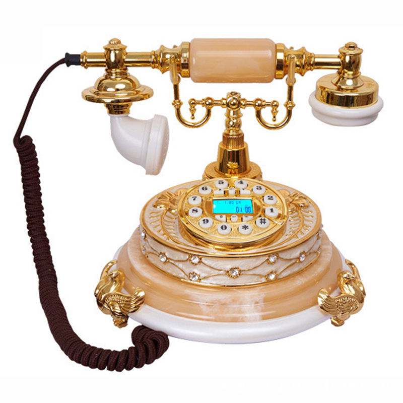 防辐射复古蓝牙电话机厂家供应批发生产高档树脂蓝牙电话座机