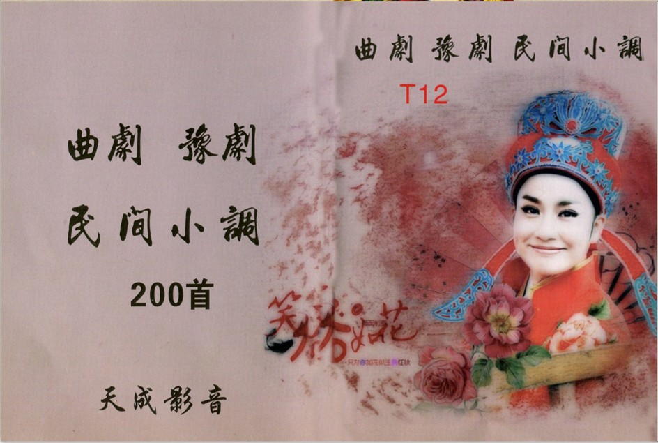 T12批发4G豫剧 明间小调 曲剧200首戏曲内存卡 高清音频卡看戏机