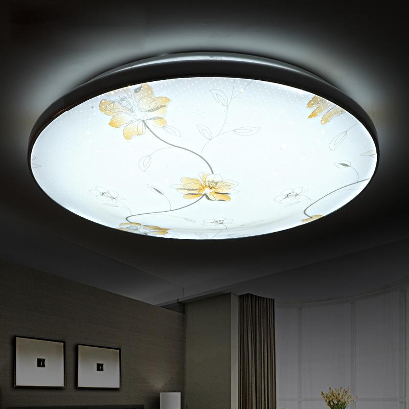 现代简约led吸顶灯卧室客厅圆形阳台玄关大气卫生间房间灯具灯饰