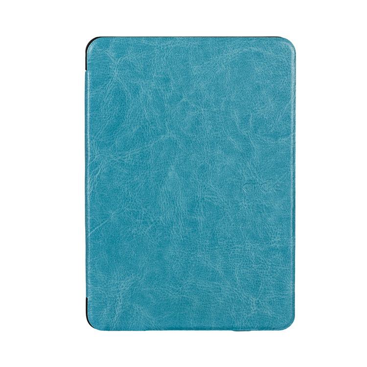 厂家直批 亚马逊电子书Kindle paperwhite新款疯马纹吸附保护皮套