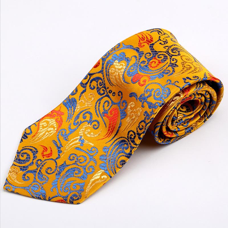 吉祥礼盒 中国云锦中国风领带 特色领带特色工艺礼品送老外/男友