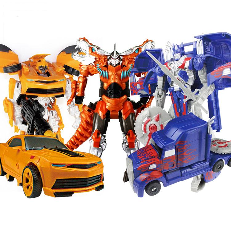 变形玩具金刚4索霸王龙3C正版黄蜂恐龙模型男孩儿童玩具礼物