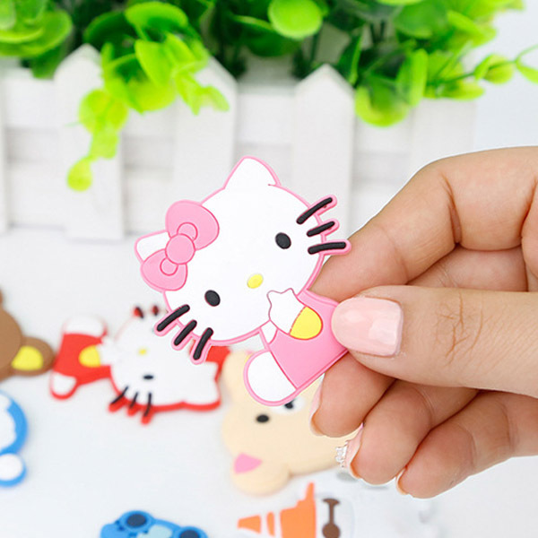 GH022韩国创意可爱冰箱贴磁贴 立体软胶硅胶卡通冰箱贴 厂家直销【创意文具A仓满29包邮】