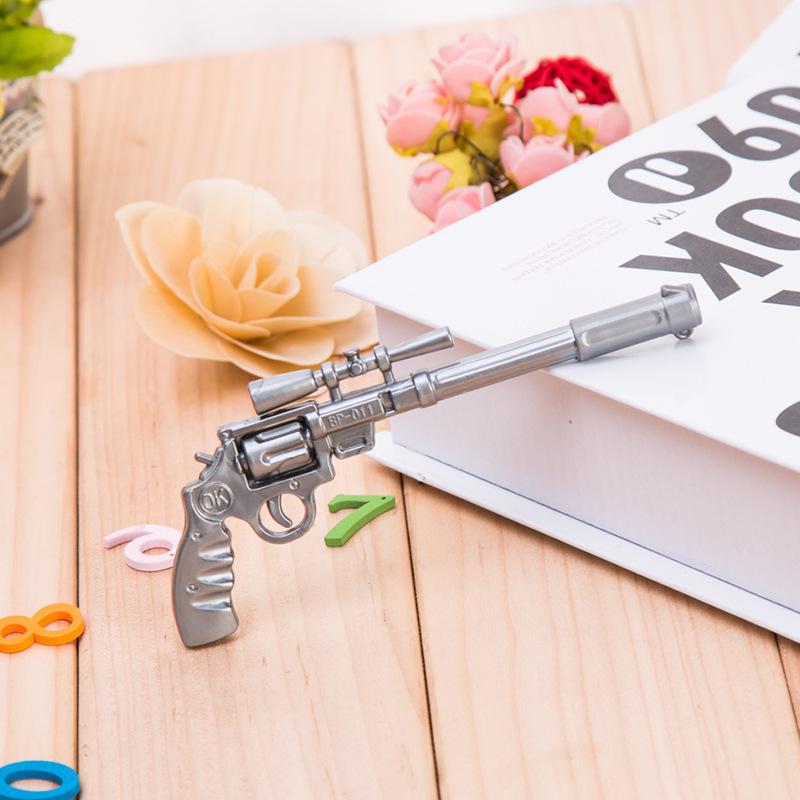c23 穿越火线圆珠笔 枪模型圆珠笔 玩具枪笔 手枪油笔 学生奖品【创意文具D仓满29包邮】