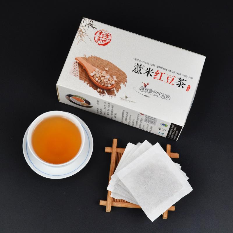 红豆薏米茶 治世本草赤小豆薏仁茶养生保健美容 玫瑰袋泡茶祛湿茶