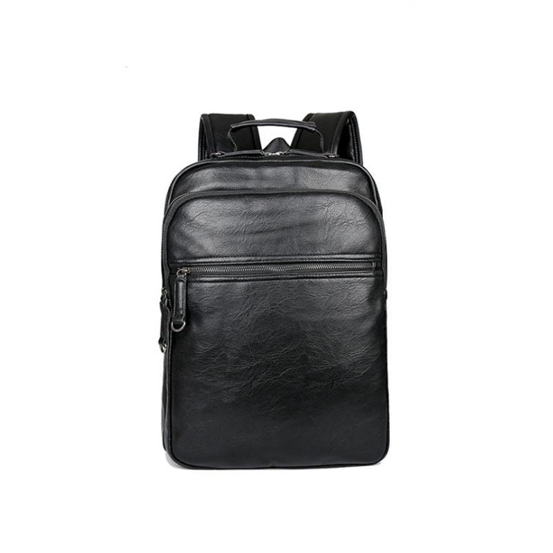 2018新款韩版休闲男士双肩背包潮流旅行包商务休闲电脑包
