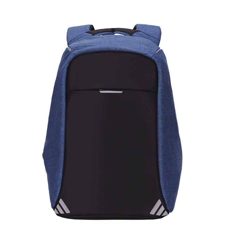 跨境男士升级版双肩 女士USB背包 旅行商务电脑包学生书包防盗